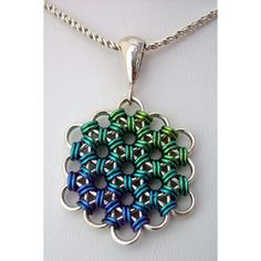 DIY jewelry chainmaille | Flower of Life | Blue Buddha Boutique