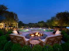 Estate & Custom Homes Outdoor Living Areas, Outdoor Spaces, Outdoor Decor, Swimming Pool Designs, Swimming Pools, Pool Contractors, New Home Construction, Backyard Patio, Windows And Doors