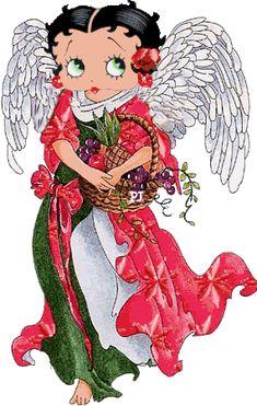 Angel Betty Boop
