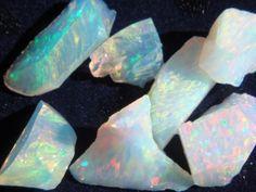 I love opals- magic in stone.