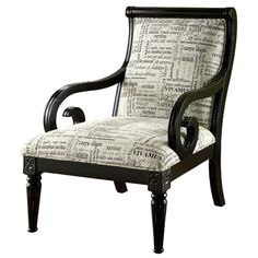 Hokku Designs Fabric Arm Chair
