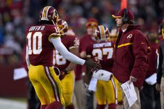 Redskins coach stresses positives in assessing QB's play