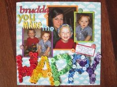 Happy by Dany, as seen in the Club CK Idea Galleries. #scrapbook #scrapbooking #creatingkeepsakes  I was highlighted!!!!