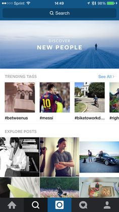 Instagram 7.0.1 Search and Trending
