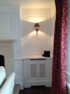 secret cupboards to match panelling