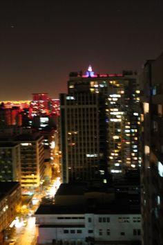 #Santiago #night #lights #Chile #centro