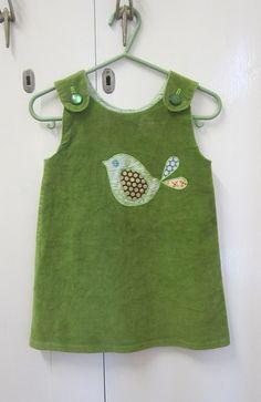 Little birdie dress by sewpony, via Flickr