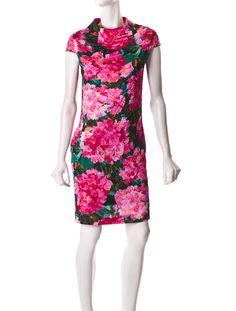 Balenciaga Floral Dress