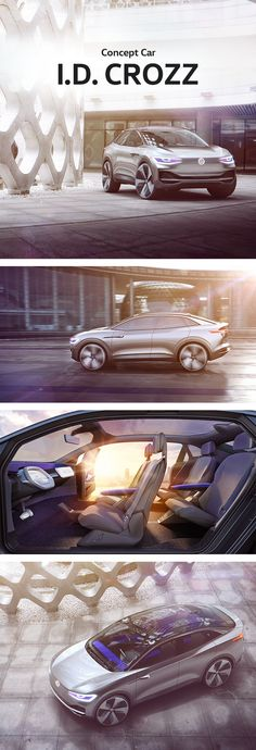 The Volkswagen concept car I.D. CROZZ is the third member of Volkswagen's I.D. family - a new generation of zero emission vehicles with long driving range, charismatic electric mobility design and a new interior world. Volkswagen celebrated the world premiere of the crossover which combines the dynamism of a coupé and dominance of an SUV at the 2017 Shanghai Auto Show.