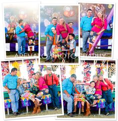 family photos at fair