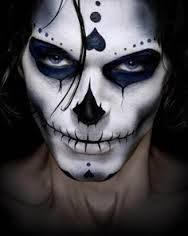Pretty day of the dead halloween makeup | day of the dead makeup - Google Search
