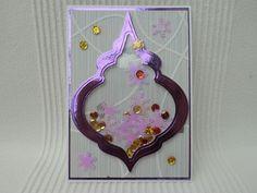 ♥ Schüttel-Karte ♥...Weihnachtskarte von UNIKAT-die Kreativ-Werkstatt auf DaWanda.com