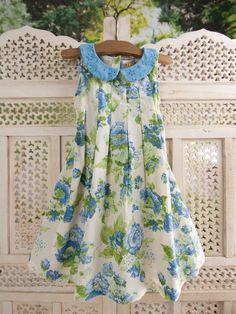 Jardin Girls Dress | April's Attic Sale, Girls Attic :Beautiful Designs by April Cornell