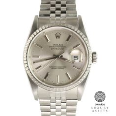#Rolex #Datejust Gents Stainless Steel Automatic #Watch
