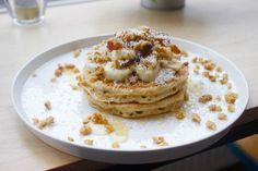 raw food vegan recepten fluffy banaan pannenkoeken