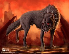 Hell hound, also known as devil dogs