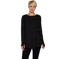 Swing to sleep in superb comfort with this cozy knit waffle top. From AnyBody(R) Lounge and Sleepwear. Page 1 QVC.com