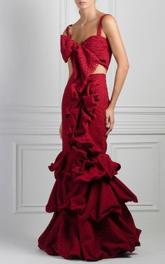 M'O Exclusive Delmar Eyelet Top by Johanna Ortiz 15 Dresses, Evening Dresses, Wedding Dresses, Matches Fashion, Orange Dress, All About Fashion, Star Fashion, Fashion Art, Beautiful Gowns