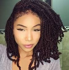Natural Twist Hairstyles Best Two Strand Twists On Natural Hair  Natural Hair  Pinterest
