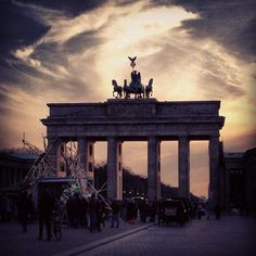 Brandenburger Tor in Berlin, Berlin