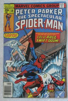 The Spectacular Spider-Man #18 (May 1978, Marvel) Ghost Rider cameo VG+ 4.5