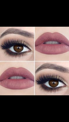 39 new ideas eye makeup prom brown lip colors Blue Makeup, Prom Makeup, Wedding Hair And Makeup, Pretty Makeup, Bridal Makeup, Makeup Looks, Hair Makeup, Bridal Hair, Eyeshadow For Brown Eyes