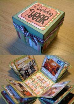 creare la scatola e la struttura porta-foto | #faidate #scrapbook #suggerimenti #tutorial idee | by glitter adventure