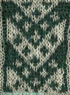 Diagonal 4 - Knittingfool Stitch Detail