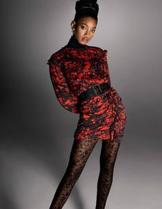 Willow Smith Stuns in High Fashion Editorial for Vogue Paris - COLOURES   Celebrating Beauty of All Shapes and Shades