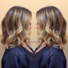 Balyage.... I want this I just need my hair to grow!!!!!!!!
