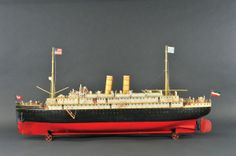 Smooth sailing for Dick Claus toy boat collection at Bertoia's May 12 auction