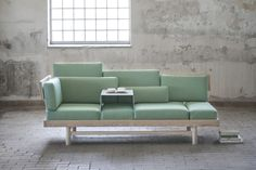 Dorme sofa, Linkki storage system and Granit bookends by Silje Nesdal » Retail Design Blog