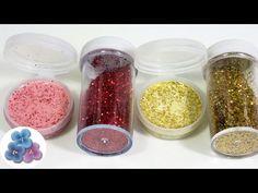 Como Hacer Glitter Casero FACIL | Pintura de Purpurina para Manualidades...