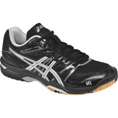 ASICS Women's B455N Gel-Rocket 7 in Black/Silver