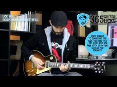 Lick 360/365 - Heavy Rock Harmonies in Dm | 365 Guitar Licks Project