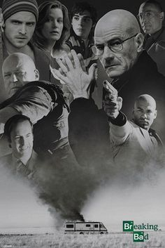 Breaking Bad - Up in Smoke - Official Poster