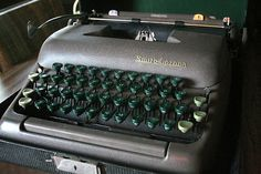 Smith Corona Sterling Portable Typewriter
