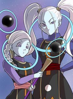 Universe 10 and Universe 11 Angels | Dragon Ball Super