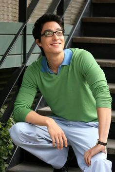 Daniel Henney <3 why can't I ever resist a hotty in glasses?