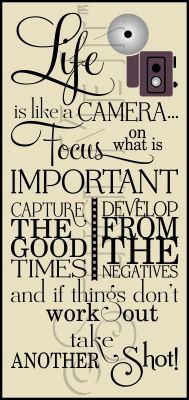 2963 * Like A Camera Typography Stencil - Vintage Camera