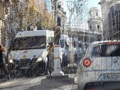 Paris, police, giropimpom, bleu, bleu, bleu