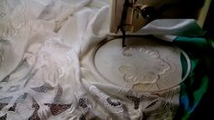 Машинная вышивка ☀Рабочее место вышивальщицы☀ Советы мастера