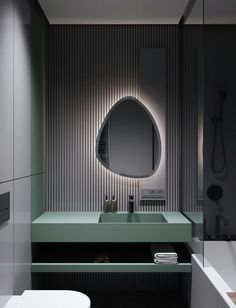 Home Interior Dark Modern Minimalist Apartment Designs Under 75 Square Meters Bad Inspiration, Bathroom Inspiration, Modern Bathroom, Small Bathroom, Master Bathroom, Zebra Bathroom, Houzz Bathroom, Bling Bathroom, Serene Bathroom