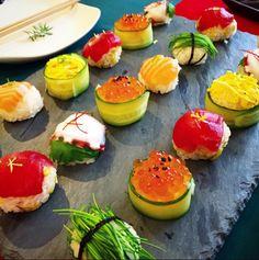 一口サイズで美味しい「手まり寿司」は、作り方も取っても簡単。食卓が華やかに彩り、お正月にも最適な「手まり寿司」をご紹介いたします。