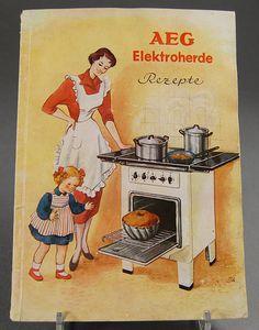 AEG Kochbuch Retro
