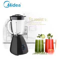 82.36$  Buy now - http://aliq51.worldwells.pw/go.php?t=32705438938 - Good quality Fashion midea electric blender 220v ABS plastic and knob control Multifunction blender food processor kitchen mixer 82.36$