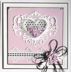 29/07/2017. Hi crafters!  Today's offering is a lovely shaker card using the new heart shaped treat cups.   I started by selecting lilac card  for m...