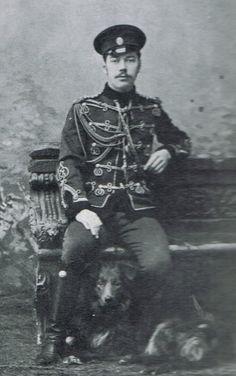 """Tsarevich Nikolai Alexandrovich Romanov of Russia.  """"AL"""""""