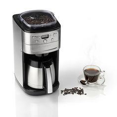 Cuisinart Grind & Brew Plus - Filter Coffee Maker - DGB900BCU