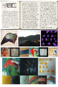Libro de artista, proceso QUERER-DEBER-PODER